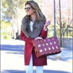 Zara Trafaluc Basket Tote Shopper Bag